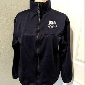 USA Olympics Jacket Made in USA Full Zip